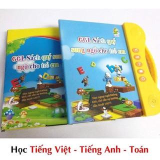 COMBO 10 Sách Nói Điện Tử Song Ngữ Anh