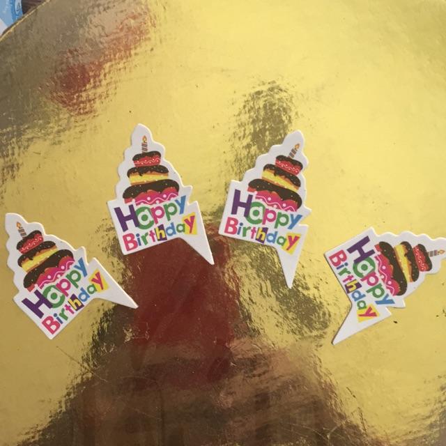 Chữ cắm cupcake hình bánh gato 50 chiếc - 3343153 , 1146666710 , 322_1146666710 , 15000 , Chu-cam-cupcake-hinh-banh-gato-50-chiec-322_1146666710 , shopee.vn , Chữ cắm cupcake hình bánh gato 50 chiếc