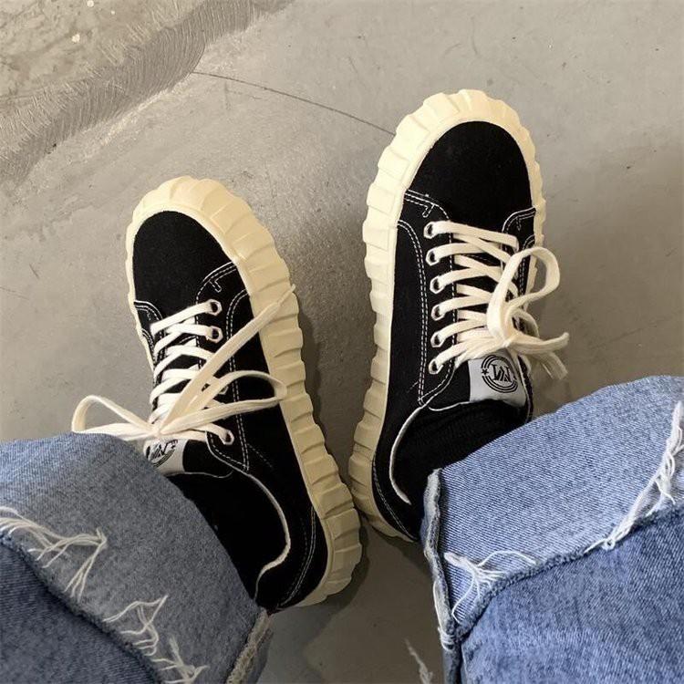 Giày Bata Cổ Cao Thời Trang Cho Nữ