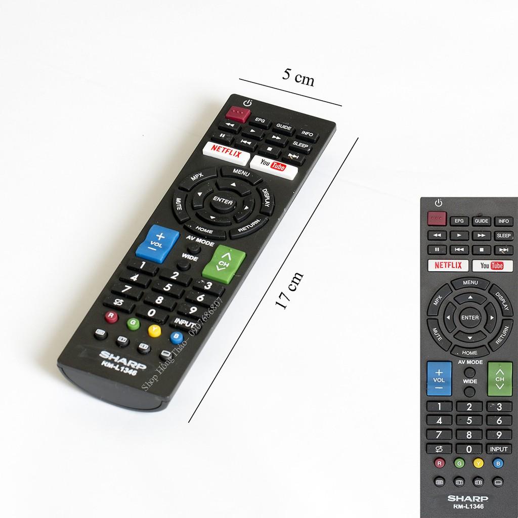 Remote Tivi Sharp RM-L1346 không hộp - 2803769 , 496810602 , 322_496810602 , 90000 , Remote-Tivi-Sharp-RM-L1346-khong-hop-322_496810602 , shopee.vn , Remote Tivi Sharp RM-L1346 không hộp