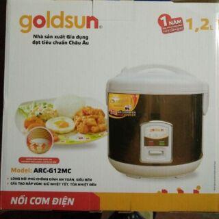 Nồi cơm điện goldsun