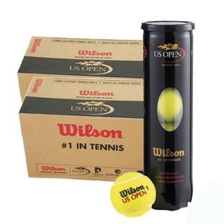 Combo 10 Lon Bóng Tennis Wilson US Open (4 Quả Hộp) Chuyên Dùng Cho Môn Thể Thao Tennis, Đảm Bảo Hàng Chính Hãng thumbnail