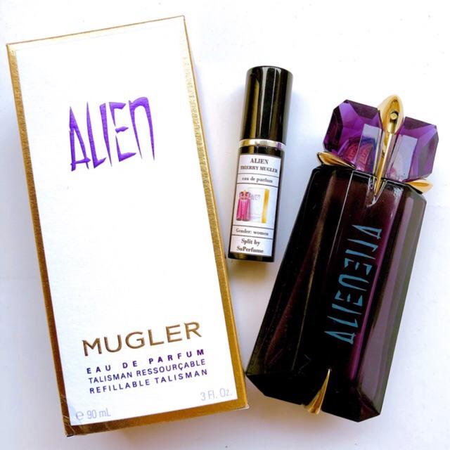 Nước hoa Alien Thierry Mugler 10ml EDP Spray / Chuẩn authentic | Shopee  Việt Nam