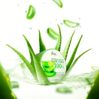 Gel dưỡng ẩm da Ekel Aloe Vera Soothing Gel 100% thumbnail