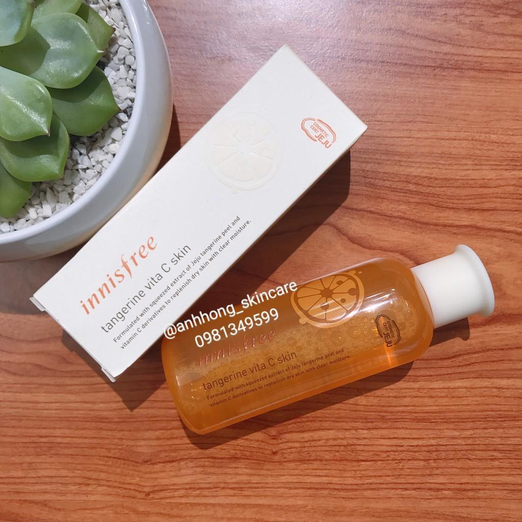 Nước hoa hồng Innisfree Tangerine Vita C Skin - 3218039 , 637642943 , 322_637642943 , 370000 , Nuoc-hoa-hong-Innisfree-Tangerine-Vita-C-Skin-322_637642943 , shopee.vn , Nước hoa hồng Innisfree Tangerine Vita C Skin