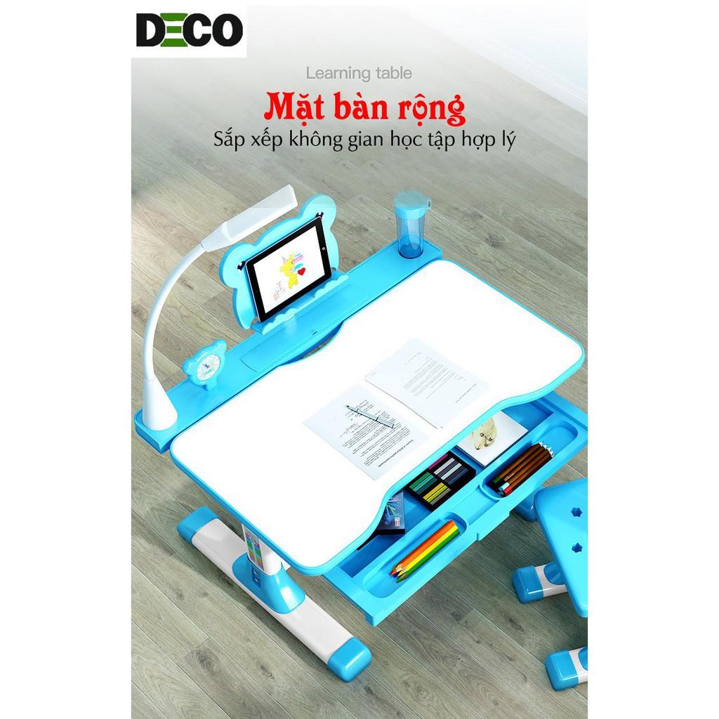 Bộ bàn ghế thông minh chống gù, chống cận DECO1988