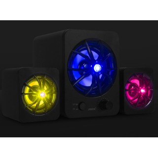 Loa Vi Tính – Loa Máy Tính 2.1 Sada D207 LED RGB – Fullbox – Bảo Hành 2 Năm