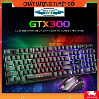 [Tặng lót chuột w3] Combo chuột và bàn phím GTX 300 chuyên game giá rẻ ( Bảo hành 3 tháng )