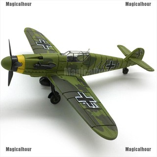 Magicalhour♥1Pc 1/48 Scale assemble fighter model toys aircraft diecast war-II