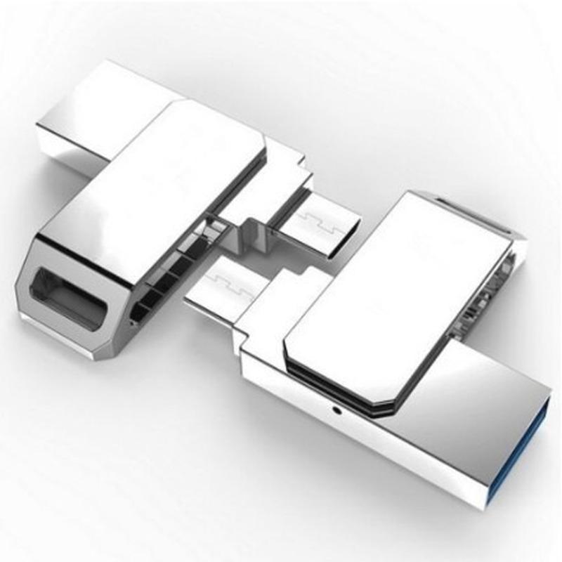 clkj Ori 100% OTG Micro USB Flash 2.0 2TB Pendrive cho điện thoại thông minh Android Giá chỉ 80.000₫