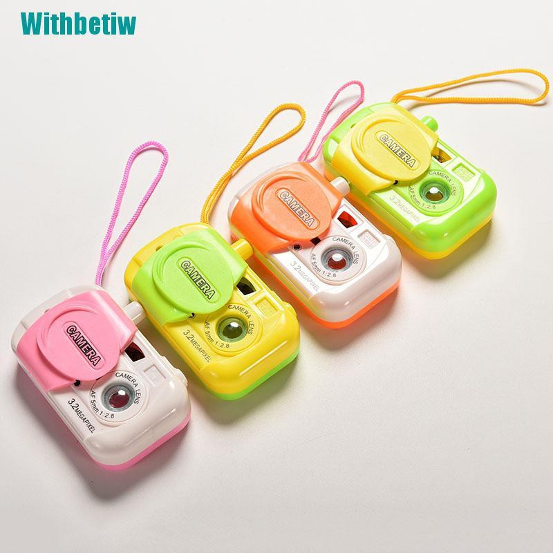 【Withbetiw】Kids Children Baby Study Camera Take Po Animal Learning Educational Toys Gift