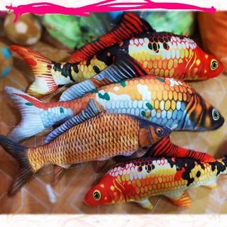 Gối ôm cá chép bông in hình 3d 1m siêu đáng iu