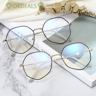 OKDEALS [Ready Stock] Fashion Glasses Radiation Protection Flat Mirror Eyewear Computer Goggles Vision Care Ultralight Anti-UV Blue Rays Eyeglasses