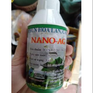 Nano ag trị nấm bệnh cây cảnh