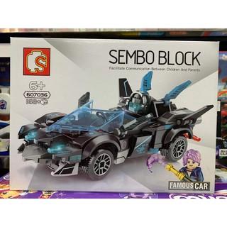 Đồ chơi xếp hình lắp ghép lego Sembo Block 607036 – 168 mảnh ghép