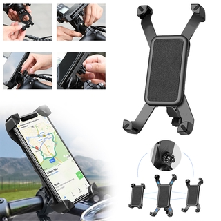 Mobile Phone Holder Bike Motorcycle Scooter Holder Mobile Phone Handlebar Smartphone Holder