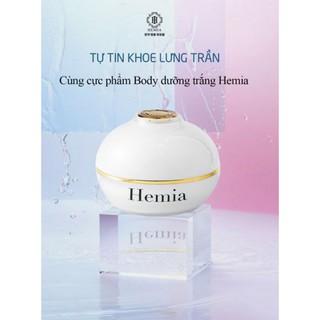Kem Body Trắng Da HEMIA made in Korea Dưỡng Trắng- Makeup- Nâng tone- Phù Hợp Da Dầu- Da Khô