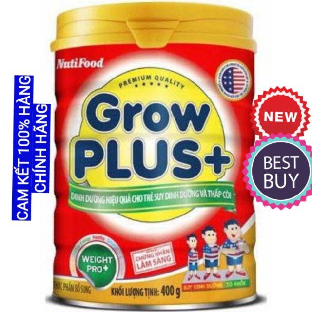 Sữa bột Growplus đỏ Nutifood 900g dat