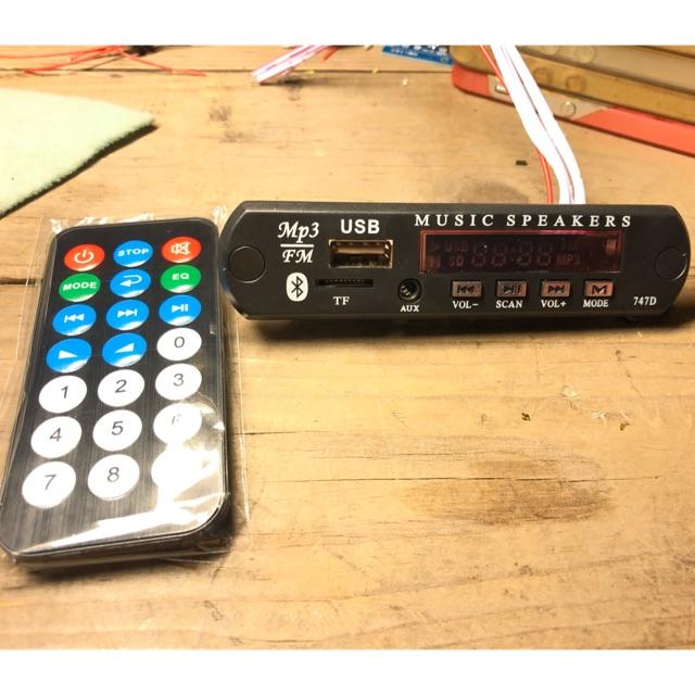 Mạch đọc usb FM Bluetooth V4.0