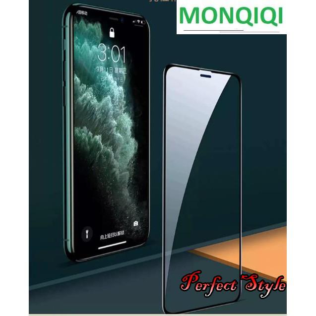 Cường lực Monqiqi Redmi note 9s / Redmi K30 / k30 pro / k20 - k20 pro Full màn cao cấp ( đen )