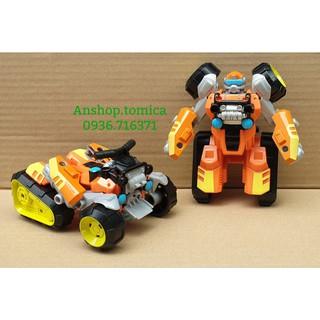 Robot Biến Hình Xe Đua Màu Cam 1 Bước Cho Bé (Hasbro - Mỹ) thumbnail
