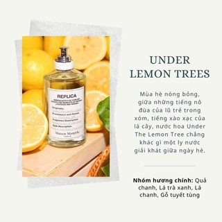 Nước hoa Under the lemon trees thumbnail