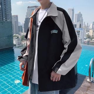 """Áo khoác tay dài chống gió giữ ấm phối màu độc đáo thời trang cho nam giá chỉ còn <strong class=""""price"""">18.600.000.000đ</strong>"""