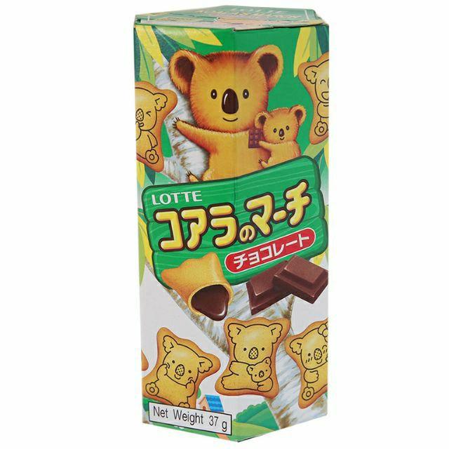 Bánh gấu nhân sô-cô-la Lotte Koala