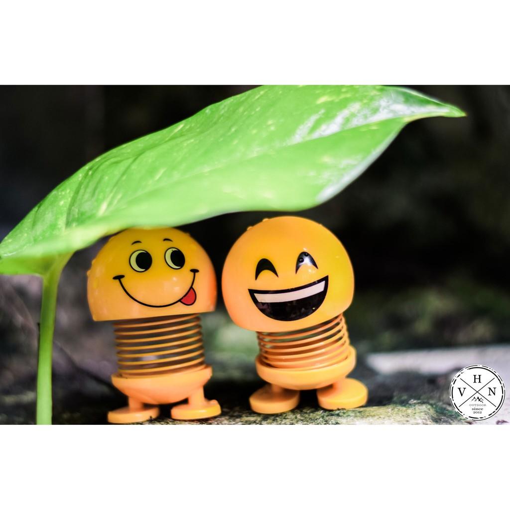 [ FREESHIP TOÀN QUỐC ] Set 3 Thú Nhún Emoji Ngộ Nghĩnh - Lò Xo Bền, Dính Chặt ( Khách...