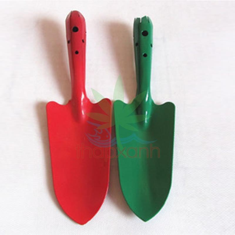 Bộ 2 Xẻng làm vườn mini TXE-02, Sơn tĩnh điện, Xẻng trồng cây, Xẻng cho bé