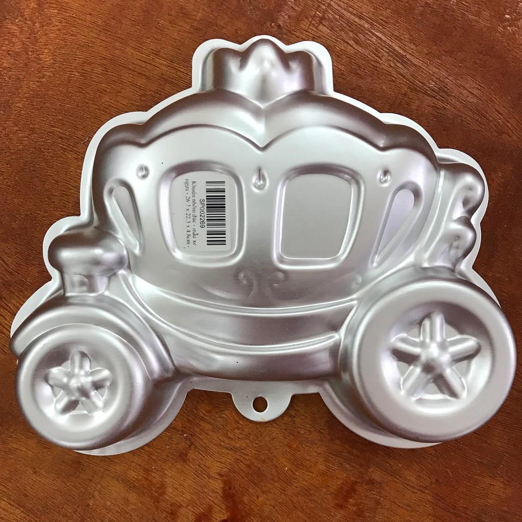 Khuôn nhôm đúc - mẫu xe nôi em bé - 26.7 x 22.3 x 4.8cm - HYA-602
