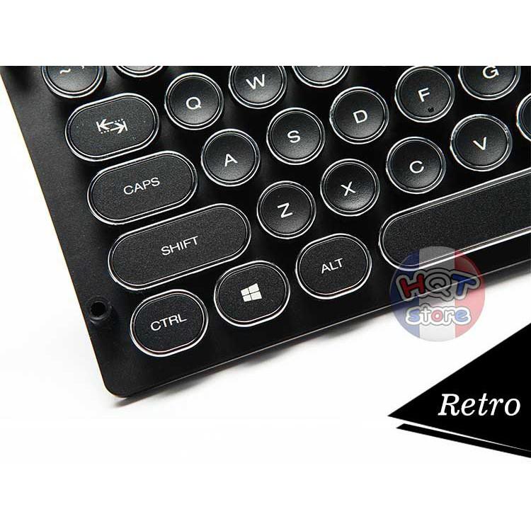 Keycap TypeWritter Máy Đánh Chữ 104 phím chính hãng Tigsword
