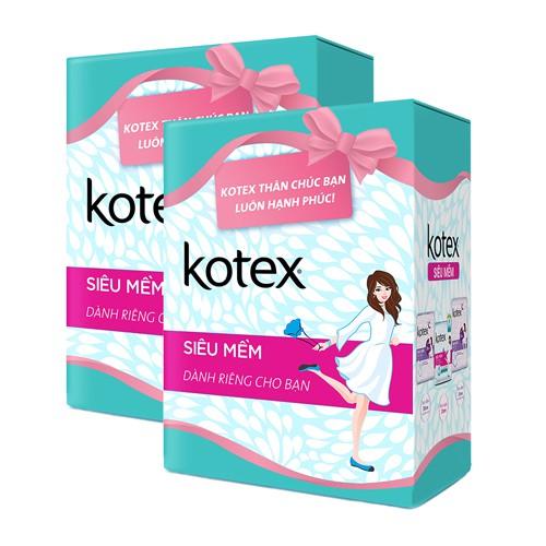 Combo 2 Băng vệ sinh Kotex siêu mềm _ TUHG000111CB - 3387674 , 1046788856 , 322_1046788856 , 40000 , Combo-2-Bang-ve-sinh-Kotex-sieu-mem-_-TUHG000111CB-322_1046788856 , shopee.vn , Combo 2 Băng vệ sinh Kotex siêu mềm _ TUHG000111CB