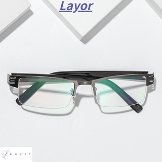 💜LAYOR💜 Ultralight Anti-blue Light Eyeglasses Radiation Protection Reading Glasses Presbyopic Eyewear Vision Care Men Women Fashion Resin Retro Classic Computer Goggles