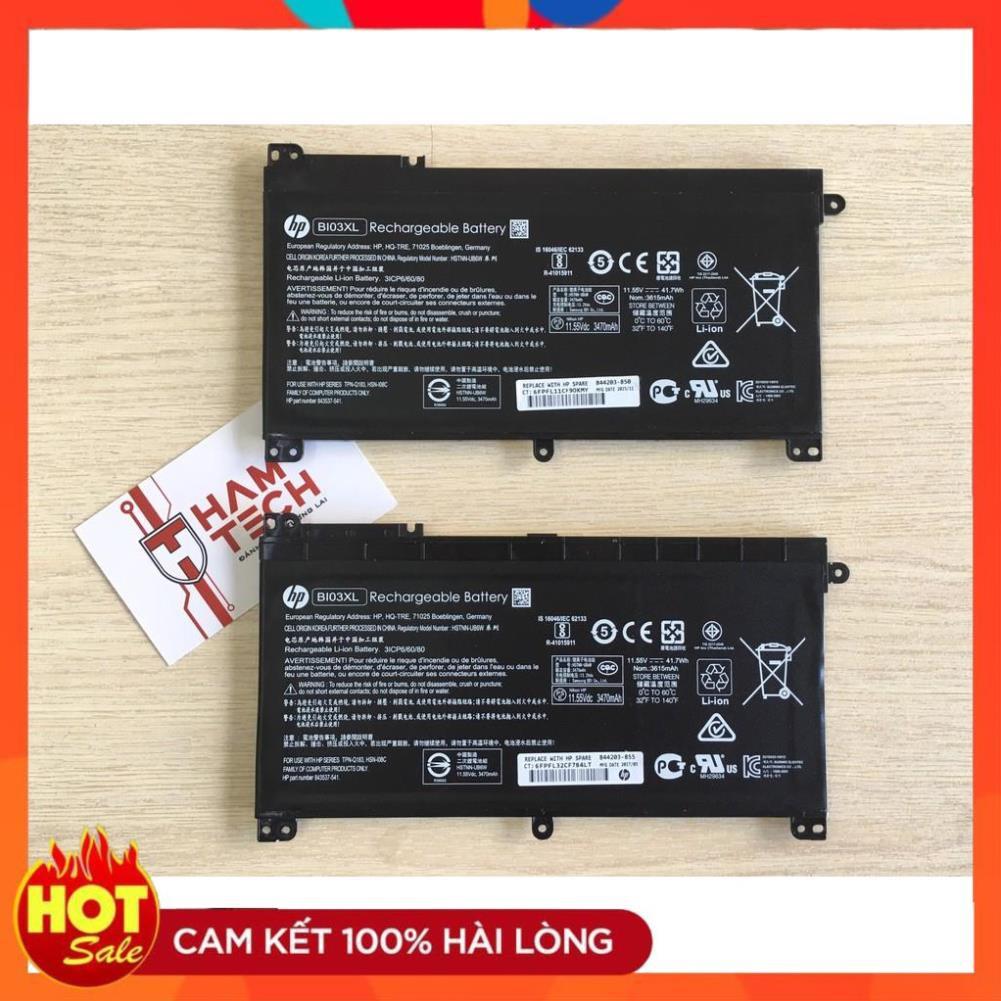 🎁 PIN LAPTOP HP PAVILION X360 13-U000, 14-AX000, BI03XL, ON03XL - 3 CELL (HÀNG ZIN)