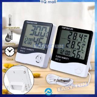 Máy đo độ ẩm nhiệt độ không khí trong nhà HTC-1 HTC-2 với màn hình LCD chất lượng cao