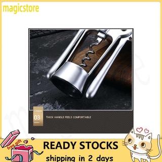 Magicstore Multifunction Zinc Alloy Red Wine Beer Bottle Opener Corkscrew Cork Puller Remover Home Bar Tool