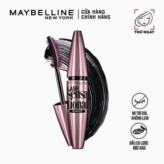 Mascara Dài Mi & Tơi Mi Tự Nhiên Maybelline New York Lash Sensational Waterproof Chuốt Mi Không Lem Không Trôi 10ml