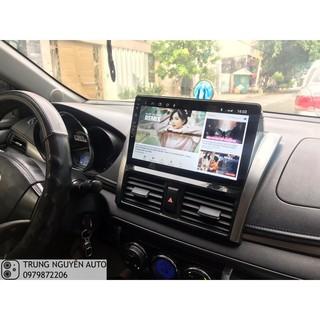 Màn hình dvd android lắp đặt cho xe vios