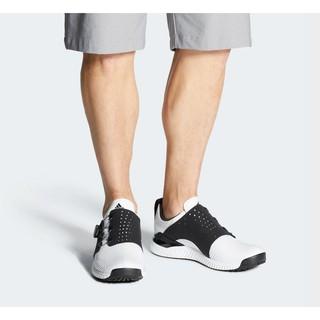 Giày hiệu Adidas Adicross Bounce Boa Trắng Đen