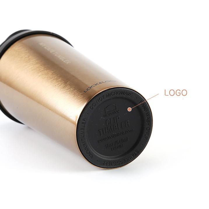 Ly Giữ Nhiệt Bằng Thép Không Gỉ Lock&Lock Clip Tumbler LHC4151 (540ml)