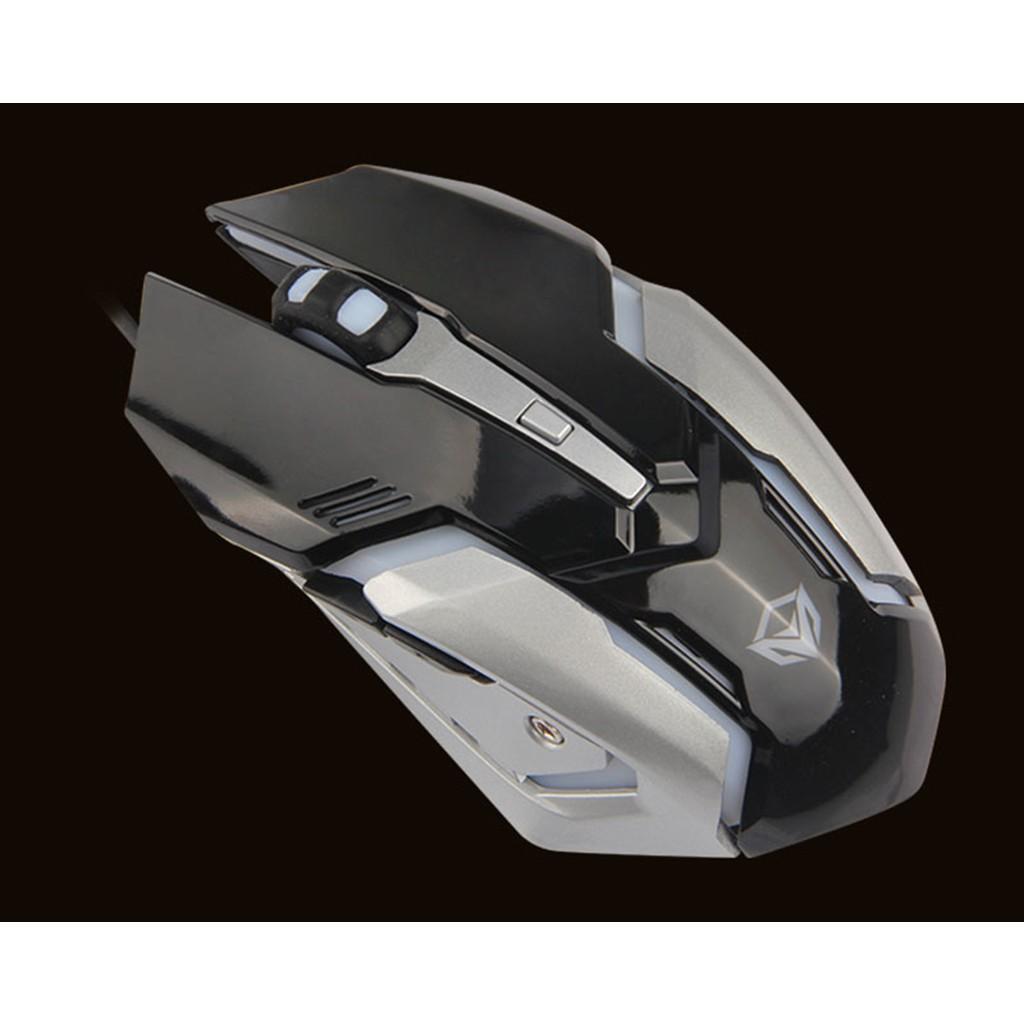 Chuột Gaming Meetion MT915 - Đèn led cực đẹp - Màu đen và trắng - Thiết kế bá cháy - Độ bền 50 triệu click - BH 12 tháng