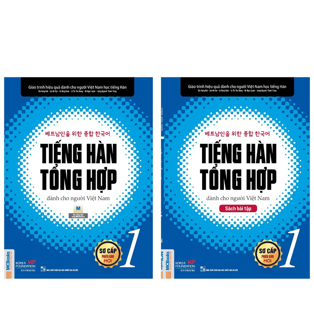 Sách Tiếng hàn tổng hợp dành cho người Việt Nam