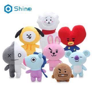 Kpop BTS BT21 Bangtan Boys Plush Cushion Stuffed Toy Dolls TATA COOKY CHIMMY SHOOKY MANG KOYAshin3