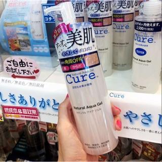 (full 250g mới) Gel tẩy tế bào chết Cure Natural Aqua Nhật Bản chính thumbnail