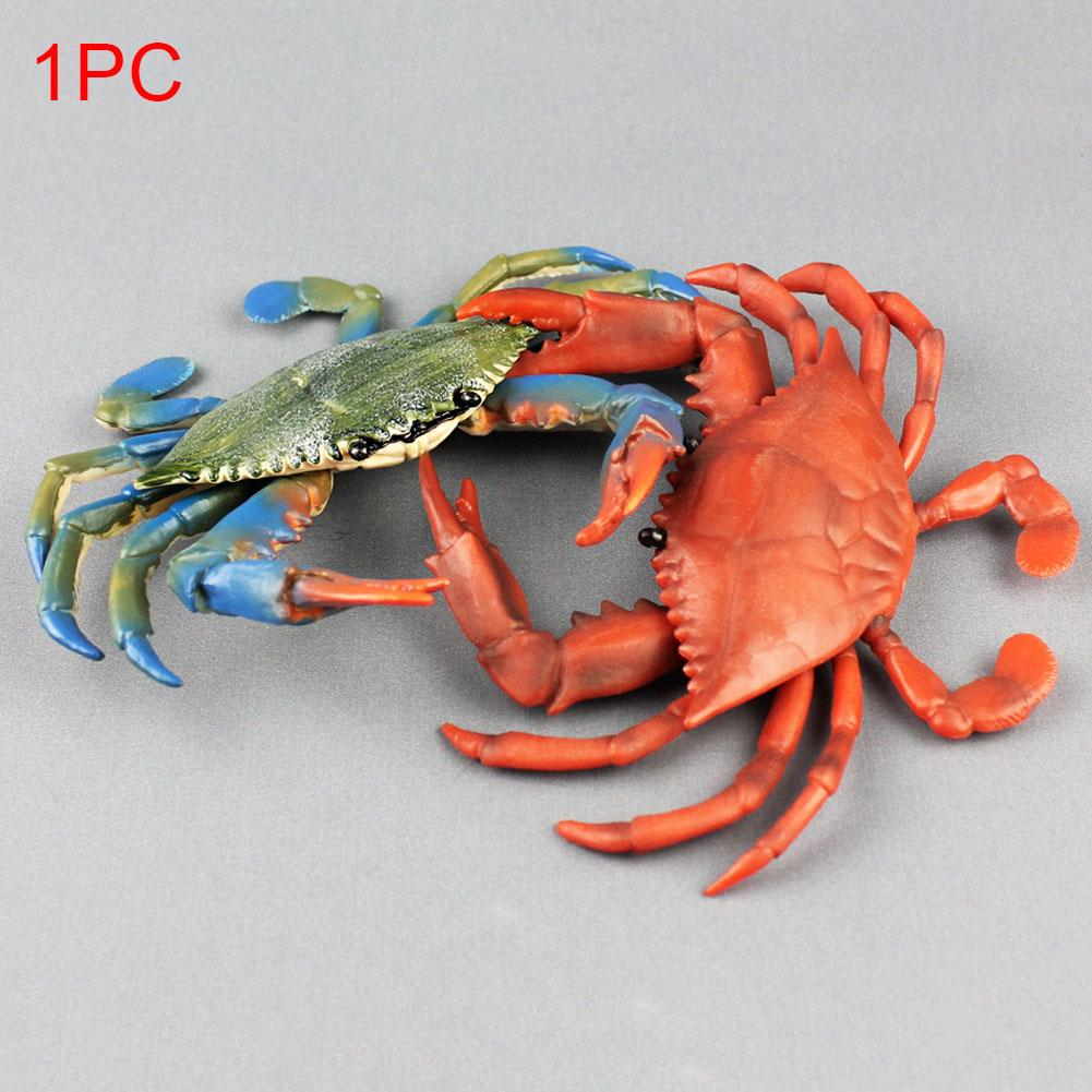 Child Decoration Sea Animal Model Educational Collection Plastic Realistic Learning Home Simulation Crab Gifts Figure