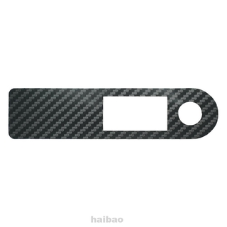 Scooter Sticker Fashion Waterproof Accessories Self Adhesive Wear Resistant Carbon Fiber Switch Panel For Xiaomi M365