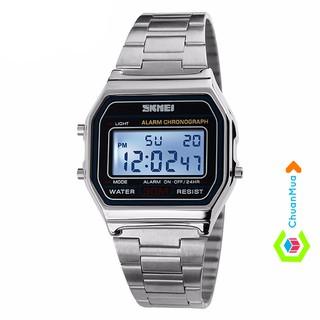 Đồng hồ Trẻ em (có size nữ) Skmei điện tử DHA357 - Vàng Bạc Vàng Hồng thumbnail