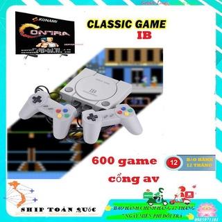 BỘ 600 GAME HUYỂN THOẠI Máy Chơi Game 4 Nút Có 2 Tay Cầm Dây Dài GameStation IB Games Cổ Điển HD Nét Căng thumbnail