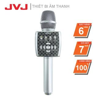 Micro Karaoke Bluetooth YS95  JVJ  kèm loa không dây tích hợp Live Stream giả giọng-kèm bộ thu tín hiệu qua loa rời